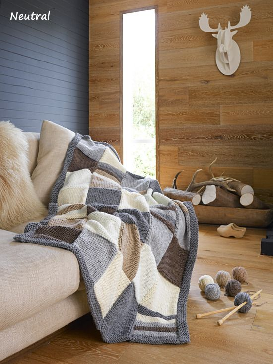Exclusive Magazine offer - Create your very own knitted throw!
