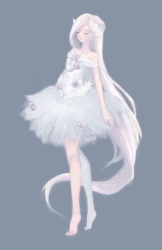 「@白衣染霜华」收集到 动漫 小说 漫画 cos 文字 古风(转) 每个女孩的梦想 婚纱礼服 二次元白发
