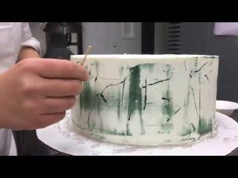 Marble Looking Buttercream Cake Tutorial Youtube Try For