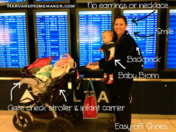 Flying with your baby over the holidays? Read this before you go (and even before you book your flight)! This mom of four is an expert traveler with little ones!! #flyingwithbaby #momtips #holidaytravel #harvardhomemaker