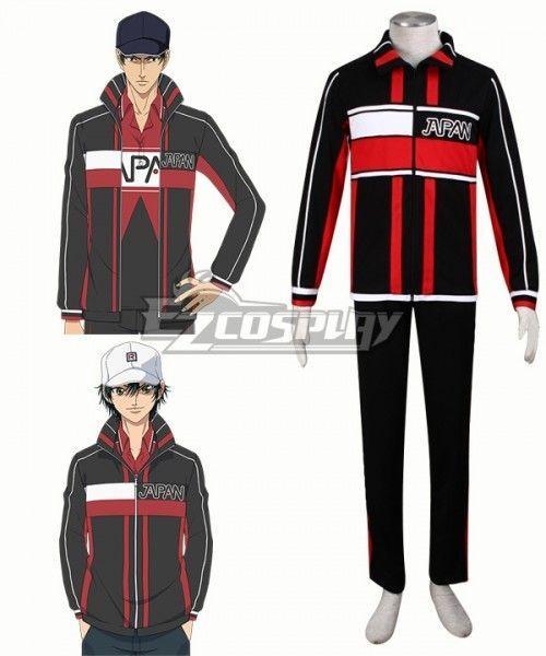 The Prince Of Tennis Ii Ryoma Echizen Genichiroh Sanada Keigo Atobe Cosplay Costume Sponsored Ryoma Echizen Ii