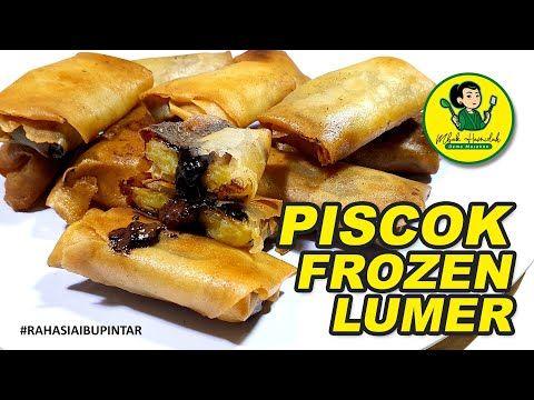 Resep Piscok Frozen Bisnis Piscok Frozen Piscok Lumer Frozen Food How To Make Youtube Frozen Resep Sosis
