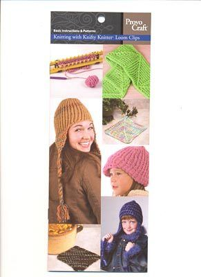 knifty knitter instruction booklet