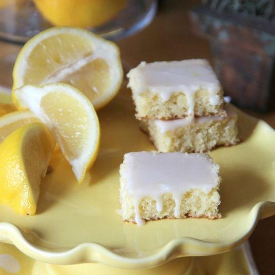 Lemonade Brownies via @Shelly Jaronsky (cookies and cups)