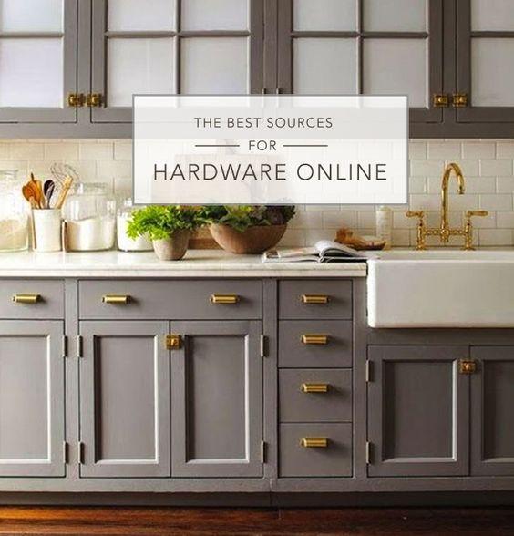 Best Online Hardware Resources | Home | Kitchen | Pinterest | Gray ...