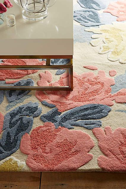 Rose Relief Rug - anthropologie.com #anthropologie #AnthroFave