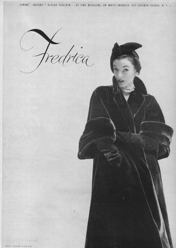 1951  Elise Daniels in a Fredrica
