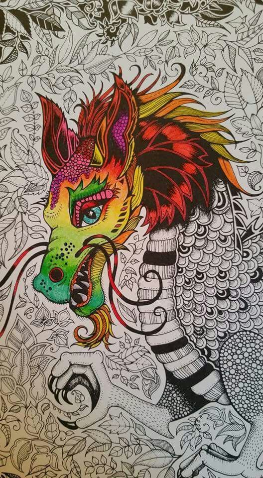 436 Best Enchanted Forest Colouring Images On Pinterest
