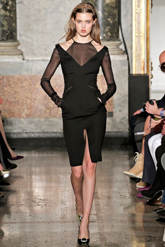 Emilio Pucci Fall 2012 Ready-to-Wear Fashion Show - Lindsey Wixson