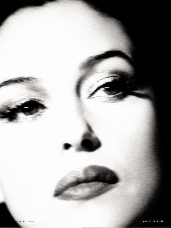 Vanity Fair Spain February 2013 Monica Bellucci by Norman Jean Roy