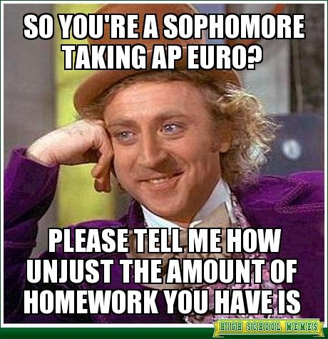 Anyone who's taken the AP European test, please help me?