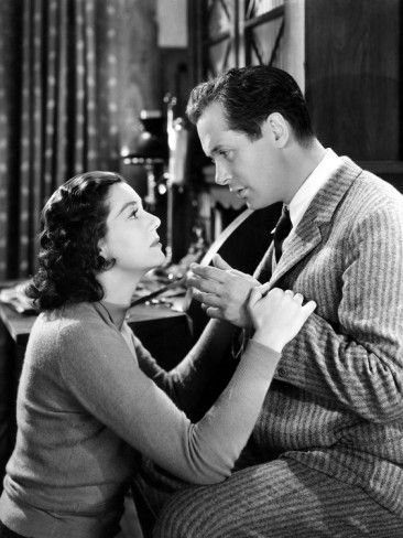 Rosalind Russell and Robert Montgomery - Night Must Fall