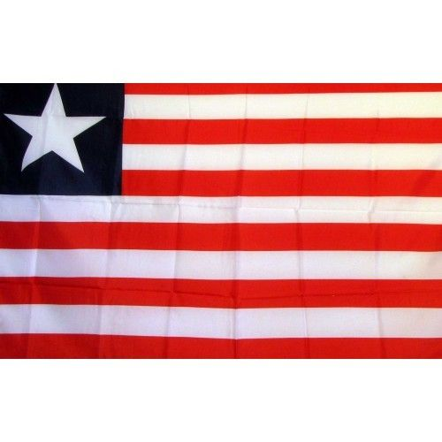 Liberia Country Traditional Flag