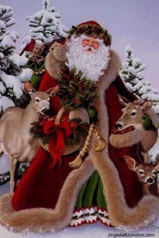 Old World Santa Claus | Elaborate Victorian Old World Santa + Sleigh CHRISTMAS IN JULY SALE!!!