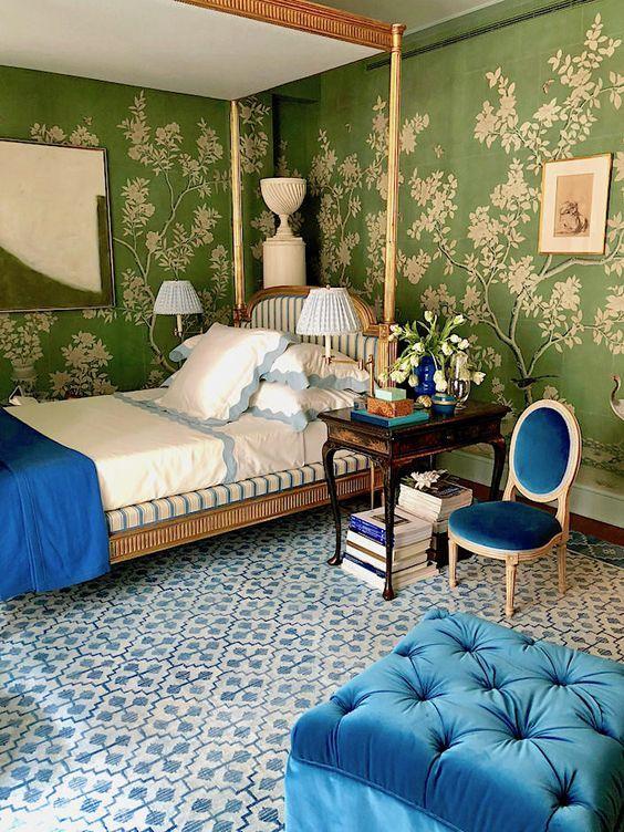 The Chinoiserie Bedroom Green Bedroom Design Bedroom Green