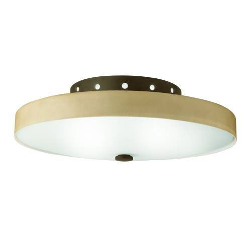 Kichler 10413OZ Kichler 10413OZ Ceiling Mt 2Lt Fluorescent in Olde Bronze. ENERGY STAR qualified light fixture