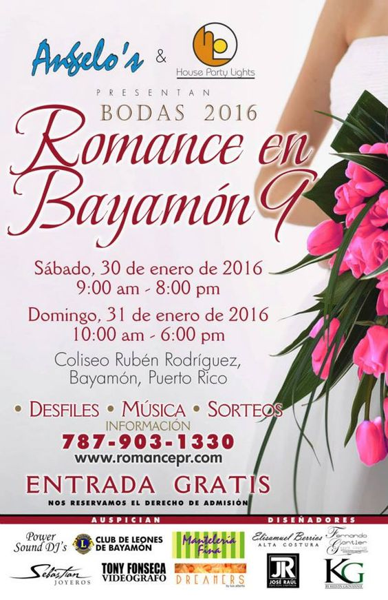 Romance en Bayamón 2016 #sondeaquipr #romanceenbayamon #coliseorubenrodriguez #bayamon #expospr