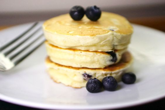 Baked By Ashley - Blueberry Buttermilk Pancakes