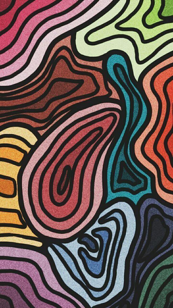 Iphone Wallpaper Vsco Hintergrundbildiphone Tapete Iphone Wallpaper Hippie Hintergrundbildiphone Tapete Patter Art Collage Wall Art Wallpaper Aesthetic Art