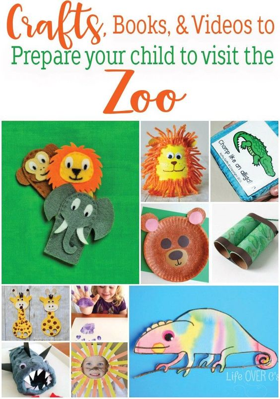 craft books zoos the zoo crafts book activities videos children kid