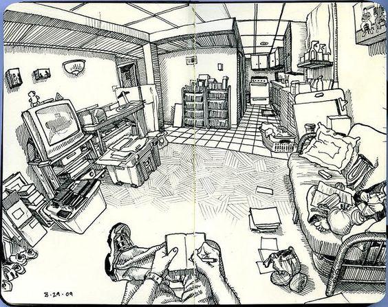 the living room Paul Heaston