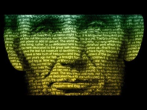 Photoshop: How to make a Text Poster of Someone - YouTube