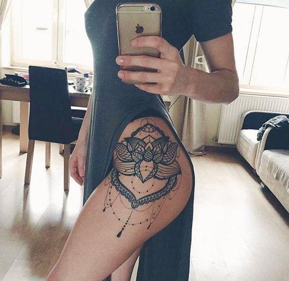 hip tattoo                                                                                                                                                      Más