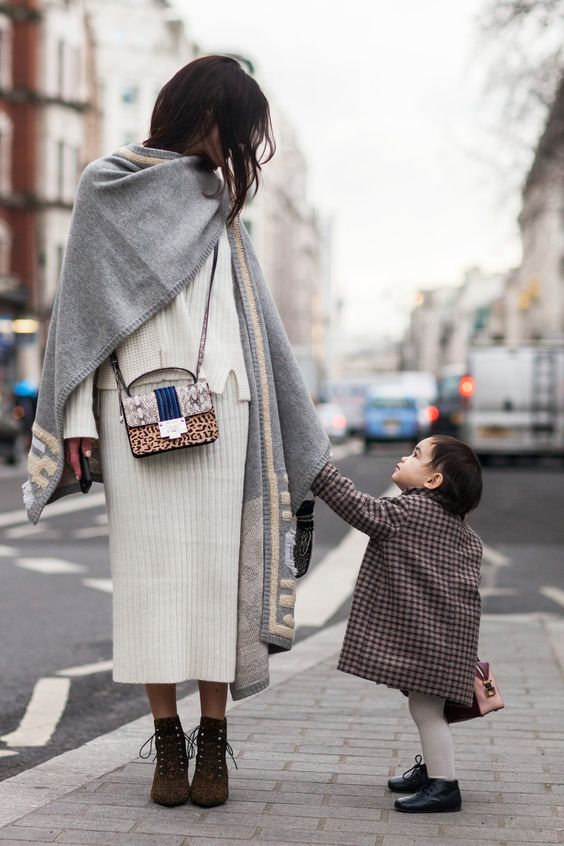 How one blogger packs for Fashion Week with her mini me: