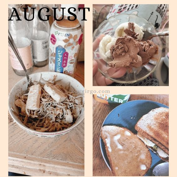 august favorites 2020 soyvirgo.com - food vegan tofu noodles pad thai ice cream so delicous cashew icecream oatly icecream reviews
