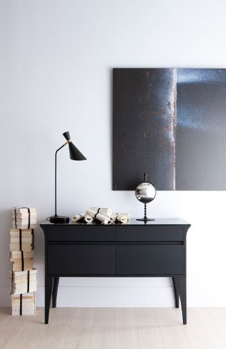 commode buffet noir le blog dco de mlc - Buffet Noir