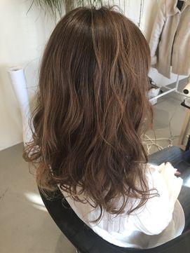 ゆるふわデジタルパーマ ヘアスタイル ゆるふわパーマ ロング 髪型
