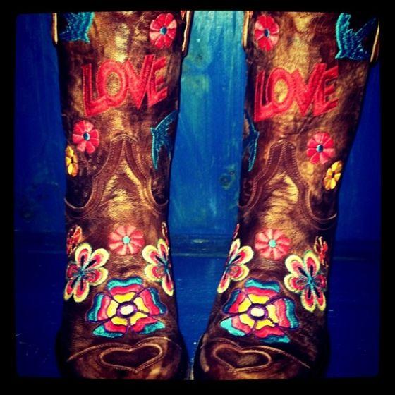 Peace, Love, Boots! -www.rivertrailmercantile.com