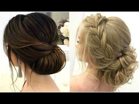 Elegant Low Bun Hairstyle Ideas Youtube Frisur Hochzeit Hochzeitsfrisuren Frisur Hochgesteckt