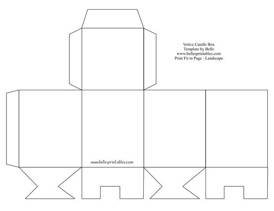 box templates templates and boxes on pinterest. Black Bedroom Furniture Sets. Home Design Ideas