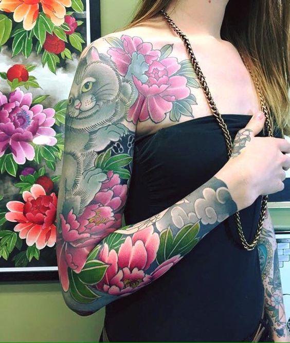 #japanese #sleeve #tattoo
