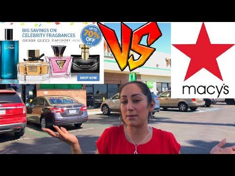 Pacas de Perfumes VS Fragancias en Macy's ⭐️ YouTube