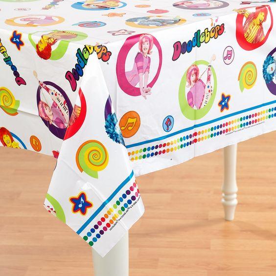 View Larger Photo of Doodlebops Tablecover