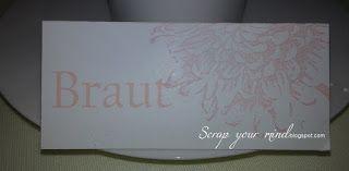 stampin'Up!, Platzkarte, Namensschild