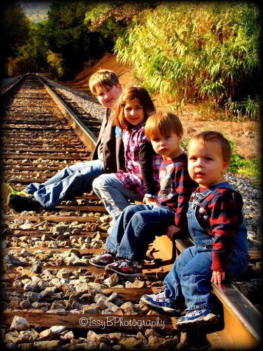 Railroad pictures. Watkins family <3