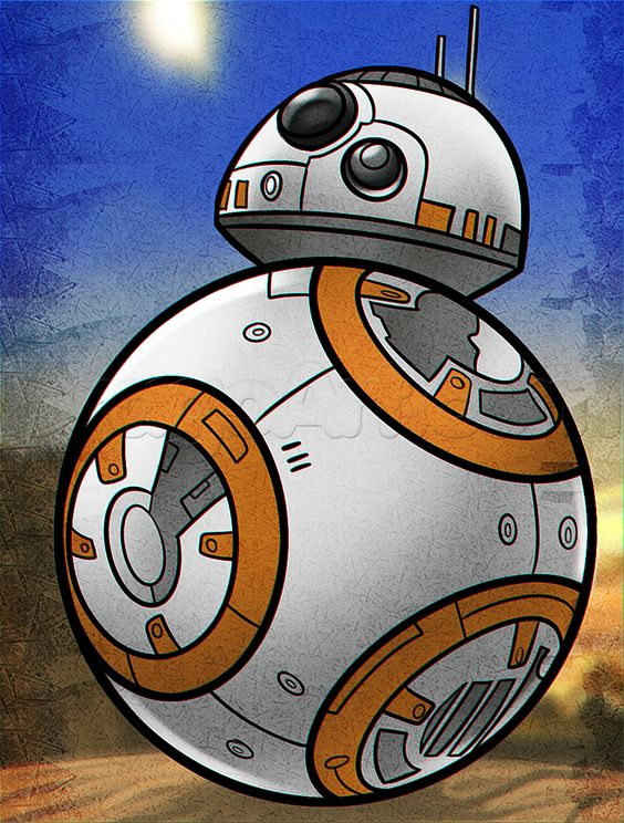 how to draw bb 8 from star wars star wars cookies. Black Bedroom Furniture Sets. Home Design Ideas