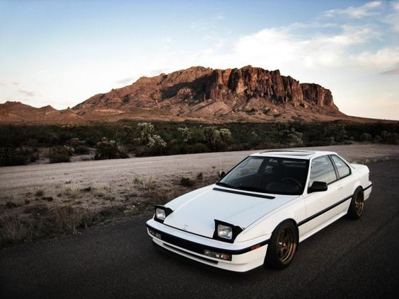 Stanced 91 Honda Prelude Si With Bronze Wheels
