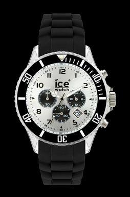 ice watch chrono black unisex inhale fashion exhale. Black Bedroom Furniture Sets. Home Design Ideas
