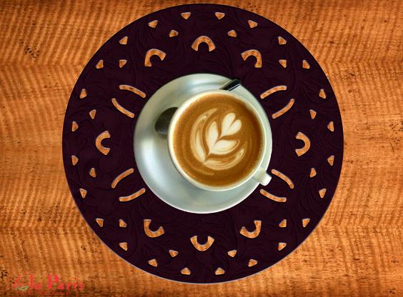Nice Breakfast, desayuno con gusto,capuccino with Lola París
