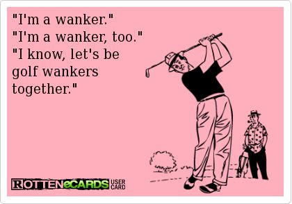 Golf wankers eCard