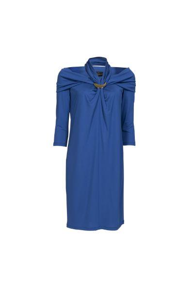 Abito drappeggio blu elettrico   #luisaspagnoli #clothes #abbigliamento #abbigliamentodonna #womenswear #springsummer #primaveraestate #springsummer2014 #primaveraestate2014 #moda2014 #abiti