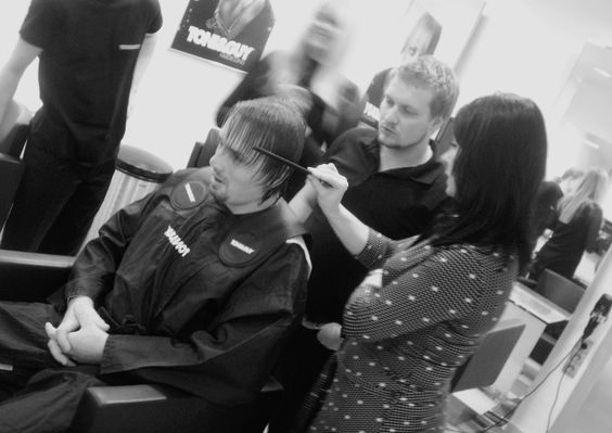 TONI&GUY Minsk. Working process.