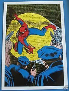 Vintage 1978 Amazing Spider Man 2 Pin Up Poster Marvel | eBay