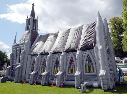 inflatable church buildings | Inflatable Church