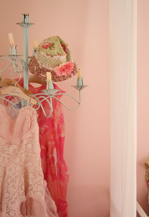 pink and vintage