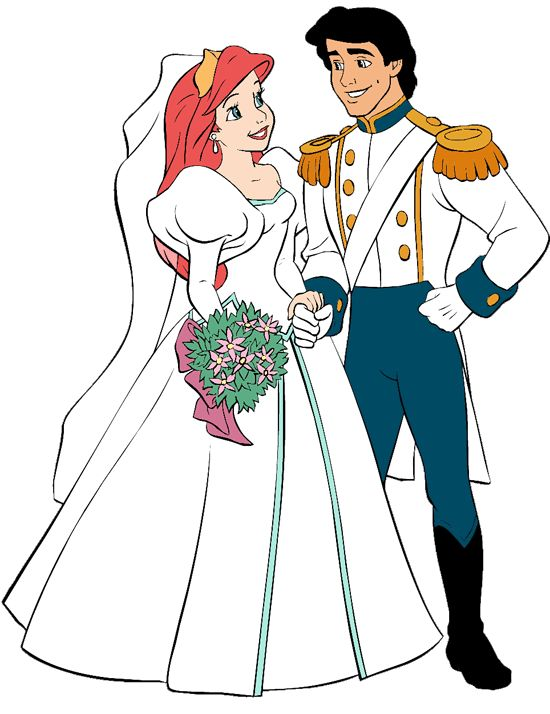 Ariel and Prince Eric's Wedding Day | Disney Princess ...
